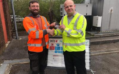 Mark Smith Pays Rewarding Visit